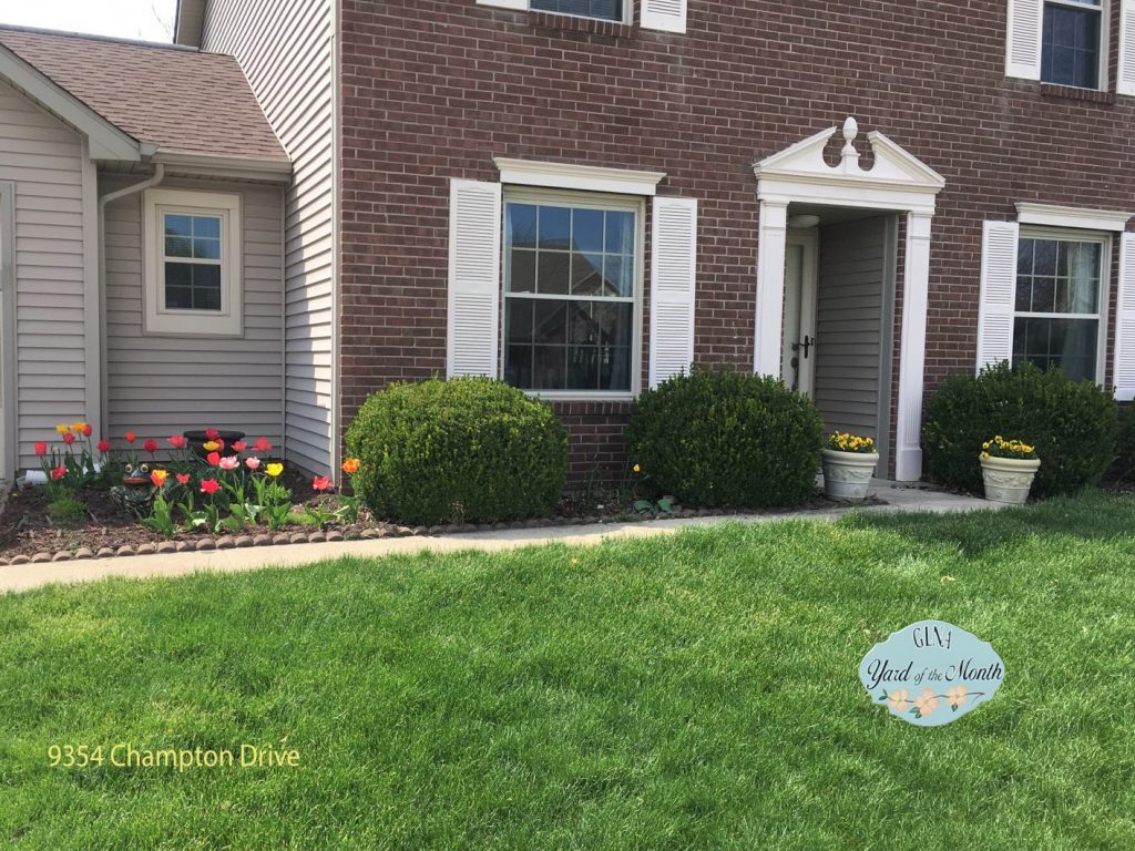 April 2019 Yard of the Month