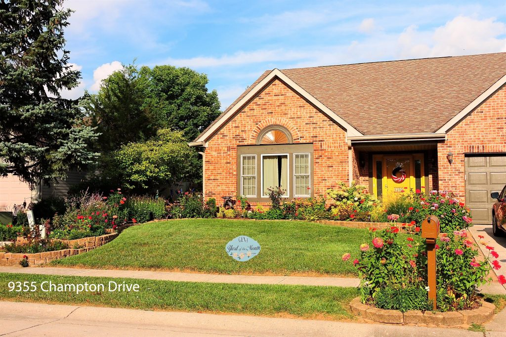September 2019 Yard of the Month
