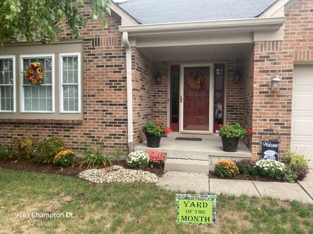 September 2021 – Yard of the Month (Click Here)